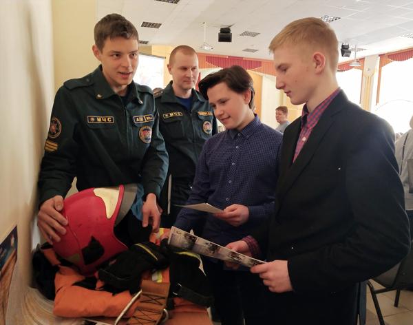 Старшеклассникам Лиозненского района помогают определиться в выборе профессии