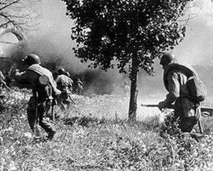 1-ы штурмавы батальён  у баях па вызваленні Лёзна