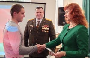 В Лиозненском военно-историческом музее состоялись торжественные проводы молодых земляков в ряды Вооруженных Сил