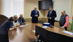 В Лиозно прошло открытое заседание президиума Совета районного объединения профсоюзов
