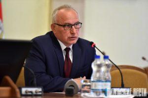 Вопросы «Дажынак», молодых кадров, потребкооперации озвучили журналисты во время пресс-конференции Николая Шерстнёва
