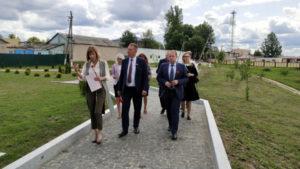 Министр культуры посетил Лиозненщину
