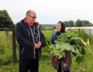 Председатель Лиозненского районного объединенияпрофсоюзов  побывал в деревнях Гущено и Пнёво