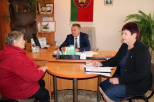 Встреча с жителями Велешковичей