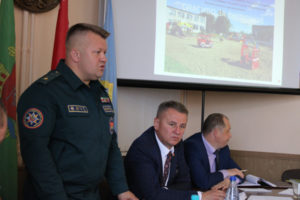 Рабочая поездка заместителя Министра МЧС Республики Беларусь в Лиозно