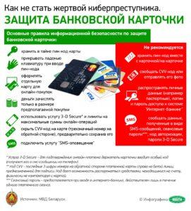 Как не стать жертвой киберпреступника. Защита банковской карточки