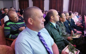Прошло торжественное мероприятие посвящённое Дню работников леса