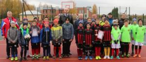 Очередная победа юных футболистов Лиозненского ФСК