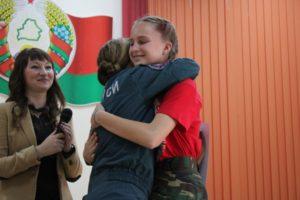 В Лиозно прошёл районный слет Юных спасателей-пожарных