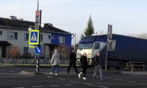 ГАИ призывает: «Водитель и пешеход, уважайте пешеходный переход!»
