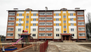 40-квартирный жилой дом по ул. Марии Октябрьской в Лиозно сдан в эксплуатацию