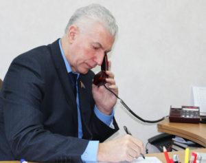 В Лиозненском райисполкоме провёл приём граждан член Совета Республики Национального собрания Республики Беларусь