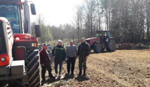 В СПУ «Перемонт» сев зерновых  закончили