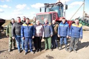 ОАО «Лиозненский льнозавод» закончил посевную