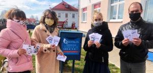 Лиозненская молодёжь приняла участие в республиканском марафоне «#СпасибоМедикам»