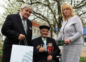 Поздравления  для ветерана