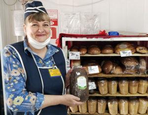 "На прилавках магазинов  появился новый вид лиозненского хлеба – ""Жнівеньскі"""