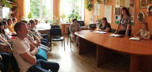 Руководство Лиозненского района встретилось с работниками предприятий, организаций,учреждений Лиозненщины