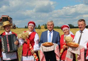 Председатель Палаты представителей Национального собрания Республики Беларусь посетил Лиозненский район