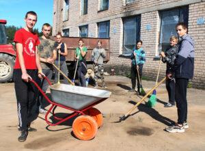 Организована работа учащихся старшего школьного возраста на предприятиях Лиозненского района