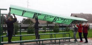На Лиозненском стадионе прошли игры районного этапа соревнований  «Кожаный мяч»
