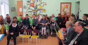 В Лиозненском Центре коррекционно–развивающего обучения и реабилитации «Радуга» прошла торжественная линейка