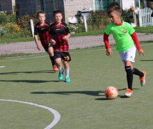Лиозненские юные футболисты победили в Миорах