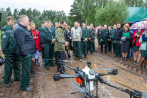 На базе Лиозненского лесхоза прошёл областной семинар