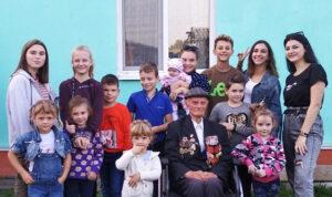 Столетний юбилей у ветерана