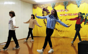 В Выдрейской ЯСБШ состоялось торжественное мероприятие, посвящённое Дню учителя.