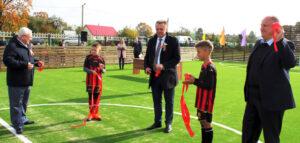 В Лиозно открыты новые спортивные объекты