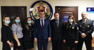 Министр юстиции Республики Беларусьс рабочей поездкой побывал в Лиозненском районе