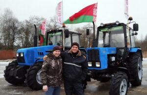 Мехпарк Витебщины пополнился сразу 257 тракторами