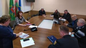 В Лиозно Прошло очередное заседание Координационного совета общественных объединений