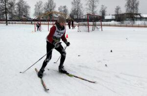 В Лиозно прошёл районный этап республиканских соревнований «Снежный снайпер»
