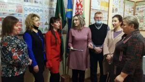 Встретились с трудовыми коллективам Лиозненского района