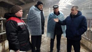 Министр сельского хозяйства и продовольствия посетил ГП «Выдрея»