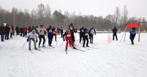 Состоялся культурно-спортивный праздник «Лиозненская лыжня-2021»