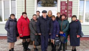Делегация района приняла участие в торжественном чествовании животноводов Витебщины