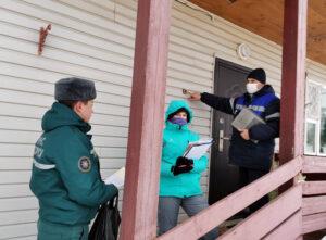 Единый день безопасности в агрогородке Адаменки