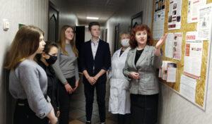 Учащиеся агрокласса СШ №1 г.п. Лиозно посетили районную ветеринарную станцию