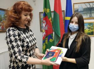 В Лиозненском военно-историческом музее состоялась торжественная церемония вручения паспортов учащимся