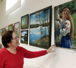 В Лиозненском военно-историческом музее состоялось открытие выставки наивного искусства «INSITUS– 2020»