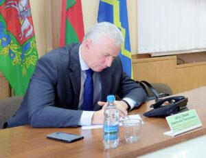 Приём граждан и прямую провёл линию член Совета Республики Национального собрания Республики Беларусь А.Т. Щастный