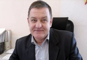 Коллектив Лиозненского лесхоза поздравил с юбилеем начальника бюро по охране труда Юрия Дюбайло.