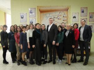 В Лиозно состоялись встречи с молодёжью