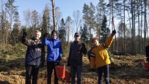 Около 60 лиозненцев приняли участие в завершении акции «Неделя леса»