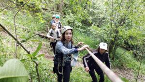 В Адаменской роще прошёл туристический слёт учащихся Лиозненского района