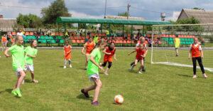 В Лиозно прошёл зональный отбор на областной этап республиканских соревнований «Кожаный мяч»