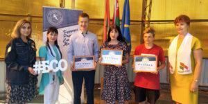В Лиозно состоялось мероприятие по вручению путёвок штабам трудовых дел школ района